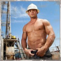 workman sexy building site london