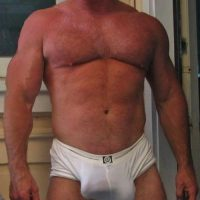 dad big cock bulge