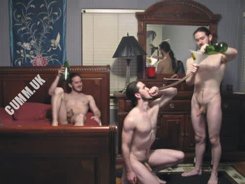 drunk str8 men naked