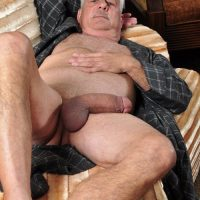 Old Man Big Cock Daddy Erection Thick