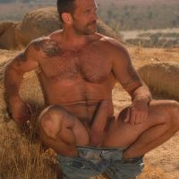 farmer wanking his big tool in fields