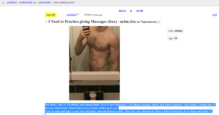 I Need to Practice giving Male Massages – m4m