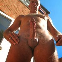 grandpa big cock exposed
