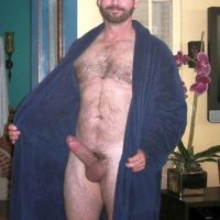 big bear cock dressing gown