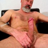 dad big cock showoff thick fat