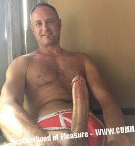 hung english bloke hairy huge dick donkey