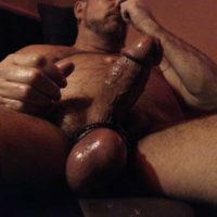 bull balls boxer thick erect cock match