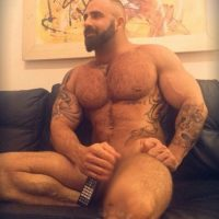 naked men with beards daddy bear big irish mickey
