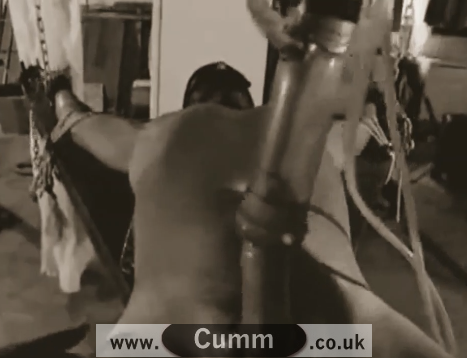 Dom Master Demonstrates the Best Penis Milking Machine