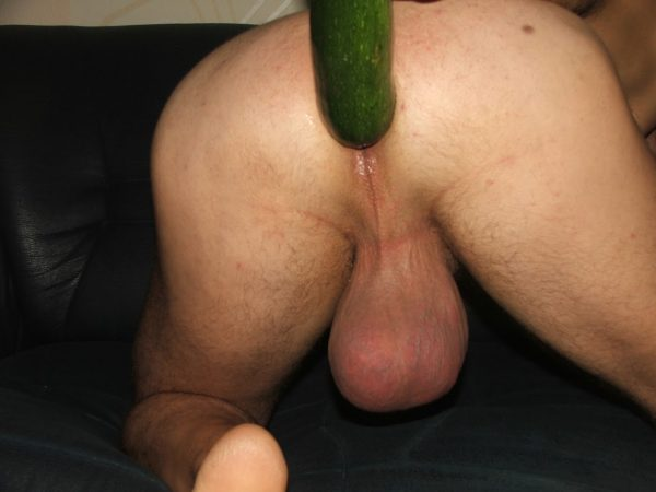 Big Balls Has A Prostate Massage