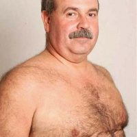 barechested bare grandpa