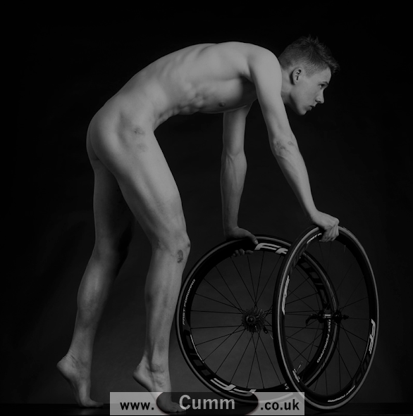 nude male model bike