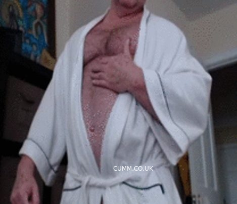 Wanking Down In Dressing Gowns