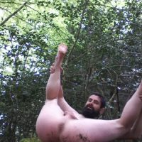 first-anal-ragsm-outdoors