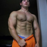 muscle lad barechested