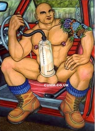 is it safe to use a cock pump?