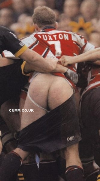 rugby arse lubed