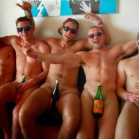 nude lads after match