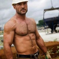 hairy workman nude